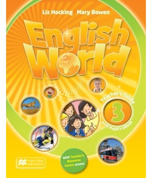 Книга для вчителя English World 3 Teacher's Book & eBook Pack