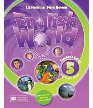 Книга для вчителя English World 5 Teacher's Book & eBook Pack