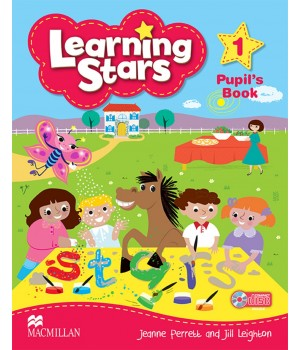 Підручник Learning Stars 1 Pupil's Book + CD-ROM