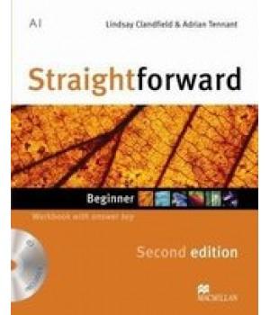 Робочий зошит Straightforward Second Edition Beginner Workbook with Audio CD