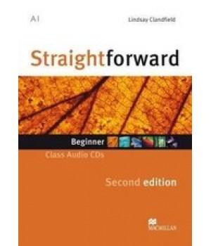 Диск Straightforward Second Edition Beginner Class Audio CDs