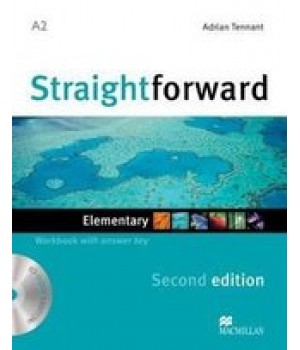 Робочий зошит Straightforward Second Edition Elementary Workbook with Audio CD