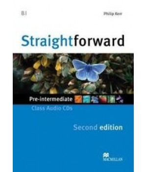 Диск Straightforward Second Edition Pre-Intermediate Class Audio CDs