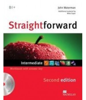 Робочий зошит Straightforward Second Edition Intermediate Workbook with Audio CD