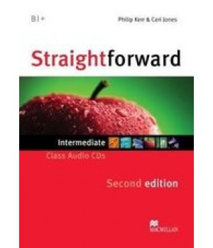 Диск Straightforward Second Edition Intermediate Class Audio CDs