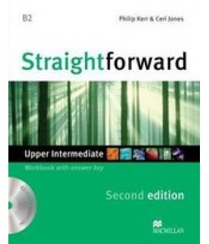 Робочий зошит Straightforward Second Edition Upper-Intermediate Workbook with Audio CD
