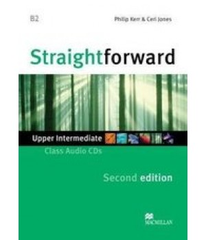 Диск Straightforward Second Edition Upper-Intermediate Class Audio CDs