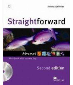 Робочий зошит Straightforward Second Edition Advanced Workbook with Audio CD