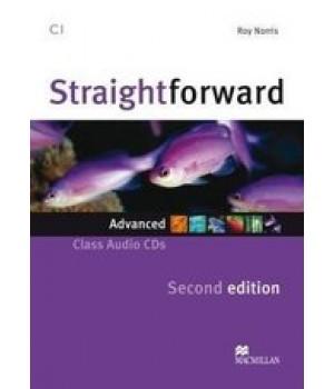 Диск Straightforward Second Edition Advanced Class Audio CDs