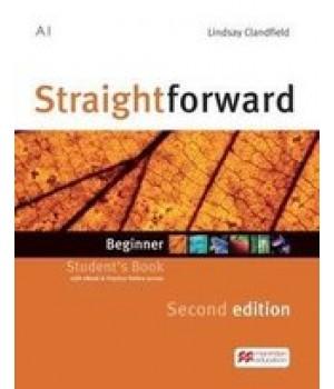 Підручник Straightforward Second Edition Beginner Student's Book with eBook and Webcode