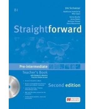 Книга для вчителя Straightforward Second Edition Pre-Intermediate Teacher's Book with eBook