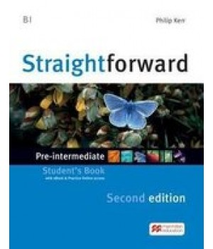 Підручник Straightforward Second Edition Pre-Intermediate Student's Book with eBook and Webcode