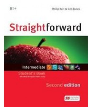 Підручник Straightforward Second Edition Intermediate Student's Book with eBook and Webcode