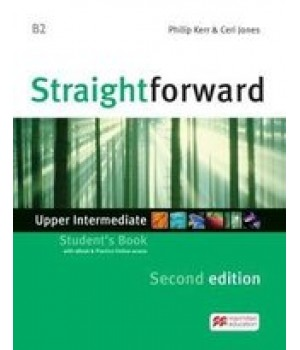 Підручник Straightforward Second Edition Upper-Intermediate Student's Book with eBook and Webcode