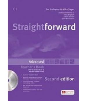 Книга для вчителя Straightforward Second Edition Advanced Teacher's Book with eBook