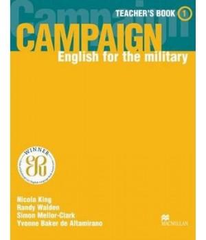Книга для учителя Campaign 1 Teacher's Book