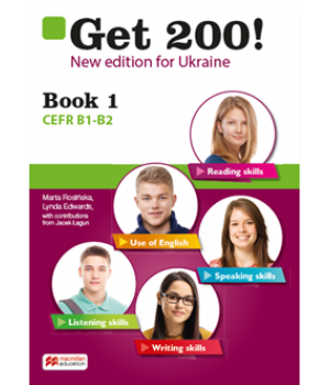Підручник Get 200! New Edition B1-B2 Student's Book 1