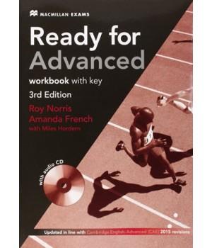 Робочий зошит Ready for Advanced 3rd Edition Workbook + Audio CD