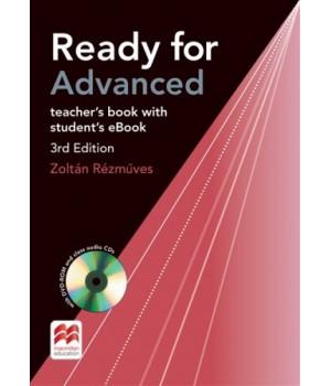 Книга для вчителя Ready for Advanced 3rd Edition Teacher's Book + DVD-ROM