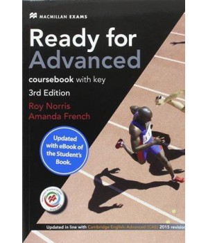 Ready for Advanced 3rd Edition Student's Book with Key & MPO + downloadable audio