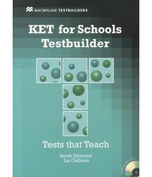 Тести KET for Schools Testbuilder Book with Key and Audio CD