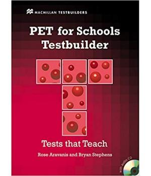 Тести PET for Schools Testbuilder with Key + Audio CD Pack