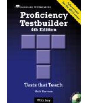 Тести Proficiency Testbuilder Book with Key and Audio CD