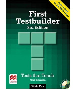 Тести First Testbuilder 3rd Edition Book with Key and Audio CD
