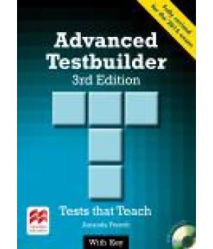 Тести Advanced Testbuilder 3rd Edition Book with Key and Audio CD