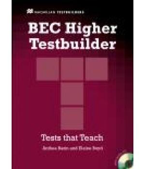 Тести BEC Testbuilder Higher Book with Audio CD Pack