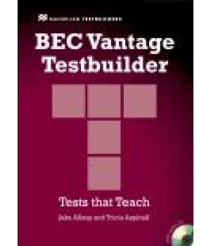 Тести BEC Vantage Testbuilder Book with Audio CD Pack