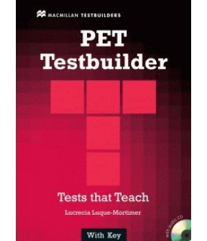 Тести PET Testbuilder Book with Key and Audio CD