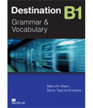 Підручник Destination B1 Student's Book Grammar and Vocabulary with key