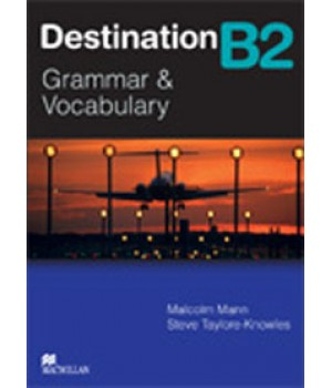 Підручник Destination B2 Student's Book Grammar and Vocabulary with key