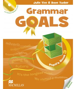 Граматика Grammar Goals Level 3 Pupil's Book with CD-ROM