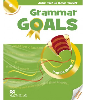 Граматика Grammar Goals Level 4 Pupil's Book with CD-ROM