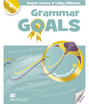 Граматика Grammar Goals Level 5 Pupil's Book with CD-ROM