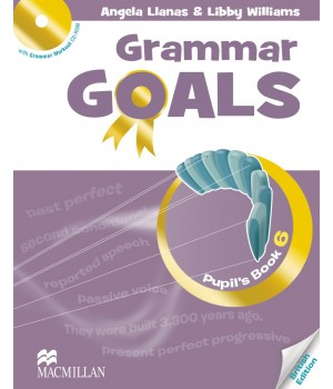 Граматика Grammar Goals Level 6 Pupil's Book with CD-ROM