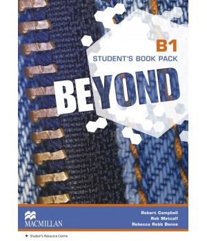 Підручник Beyond B1 Student's Book + Code to Audio and Video Material
