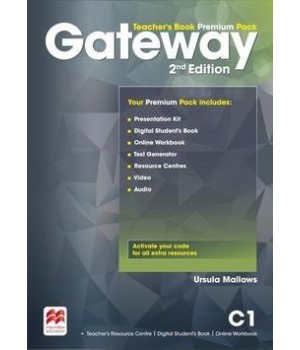 Книга для учителя Gateway C1 (Second Edition) Teacher's Book Premium Pack