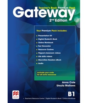Книга для вчителя Gateway B1 (Second Edition) Teacher's Book Premium Pack