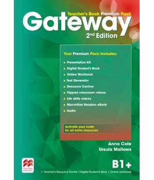 Книга для вчителя Gateway B1+ (Second Edition) Teacher's Book Premium Pack