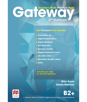 Книга для вчителя Gateway B2+ (Second Edition) Teacher's Book Premium Pack