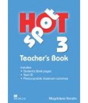 Книга для вчителя Hot Spot 3 Teacher's Book with Test CD
