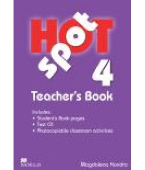 Книга для вчителя Hot Spot 4 Teacher's Book with Test CD