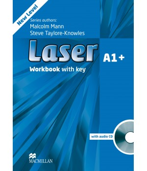 Робочий зошит Laser A1+ (3rd Edition) Workbook with Key & CD Pack