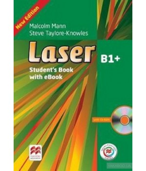 Підручник Laser B1+ (3rd Edition) Student's Book & eBook Pack + MPO