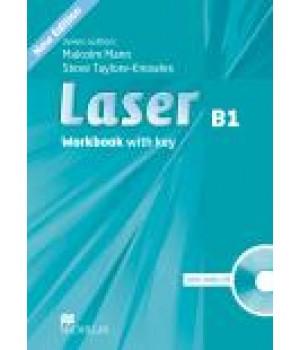 Робочий зошит Laser B1 (3rd Edition) Workbook with Key & CD Pack