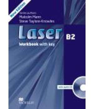Робочий зошит Laser B2 (3rd Edition) Workbook with Key & CD Pack
