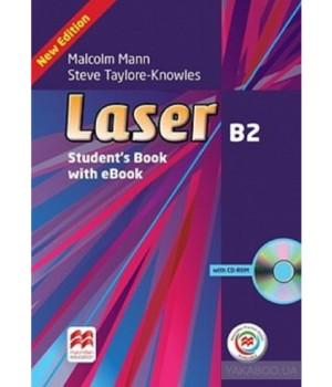 Підручник Laser B2 (3rd Edition) Student's Book & eBook Pack + MPO